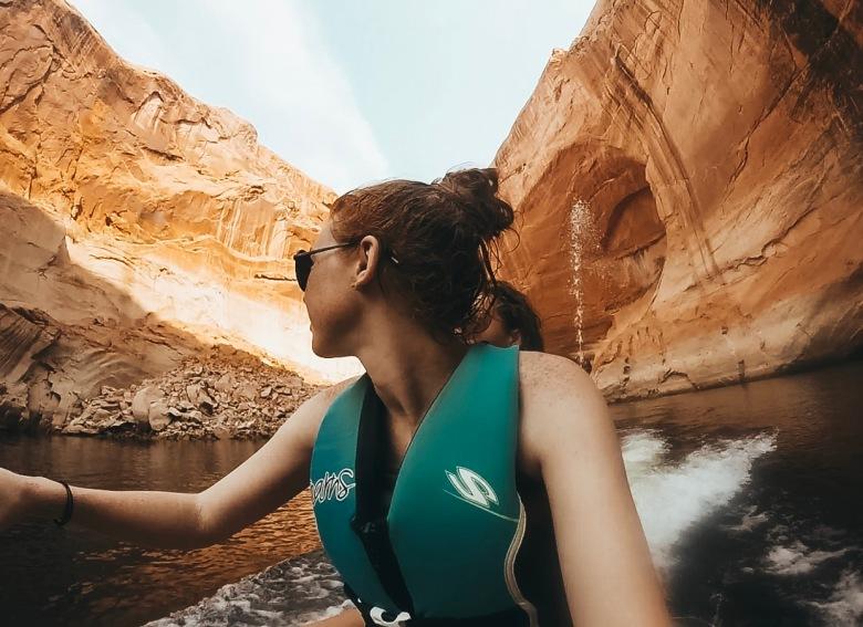 canyon exploring