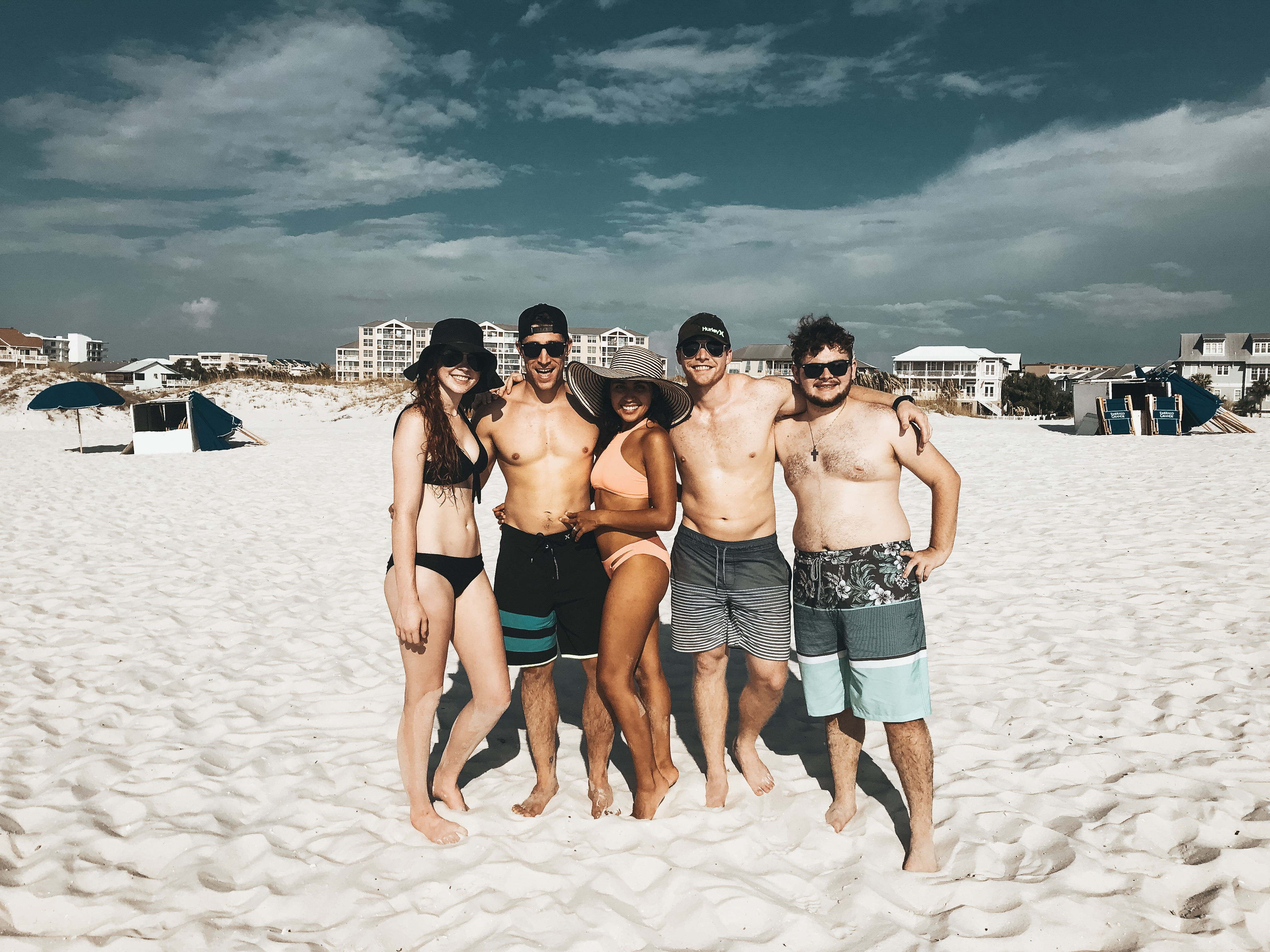 Group beach pic