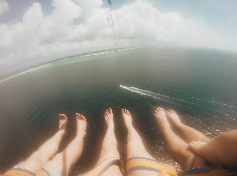 parasailing heights