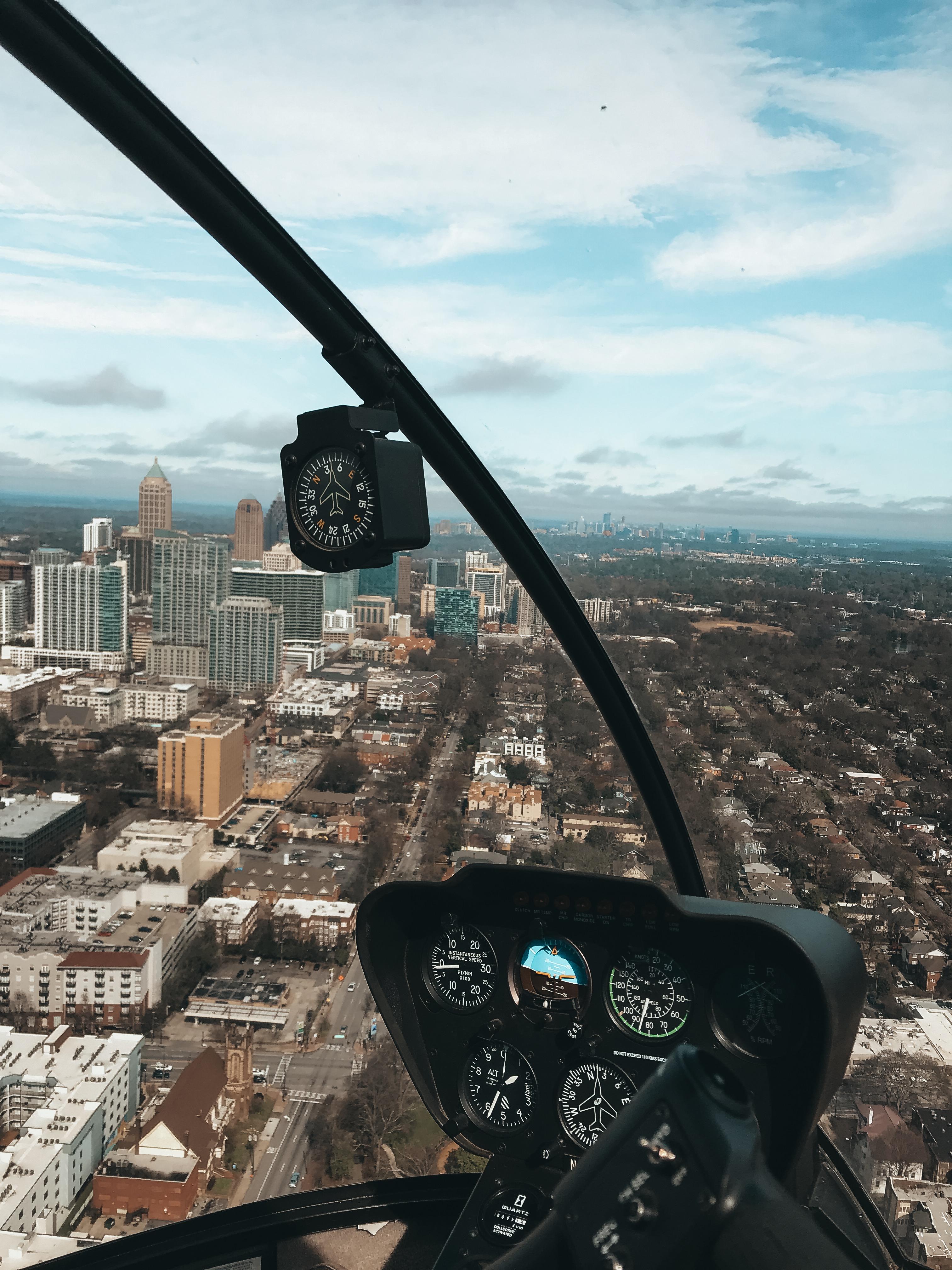atlanta flight helicopter