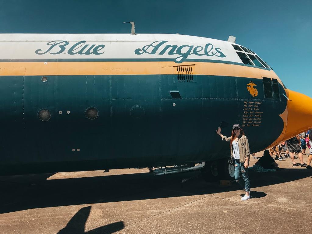 Blue Angel Plane