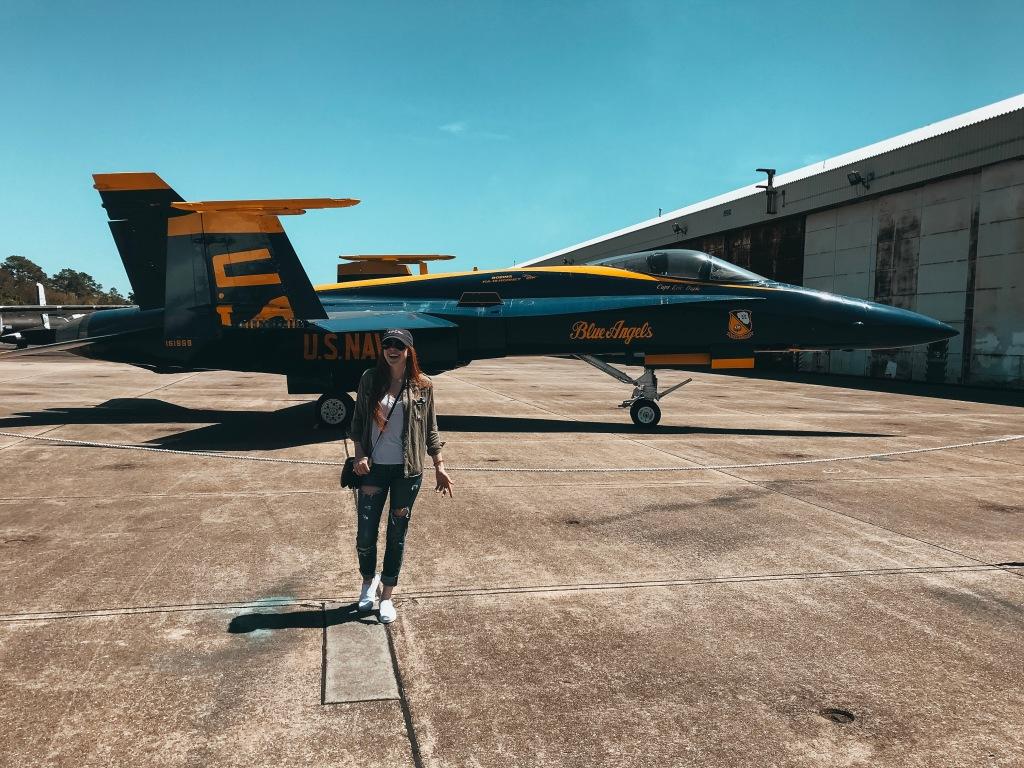 Blue Angel Jet