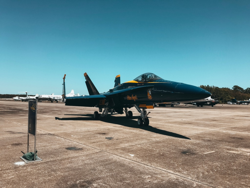 Blue Angel Jet