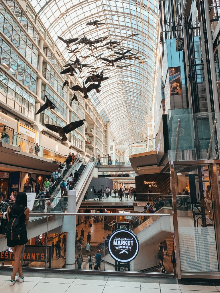 Eaton Centre Geese Mall