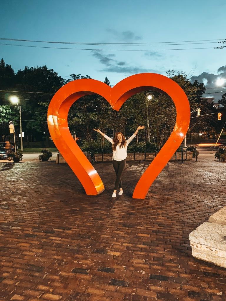 Toronto Heart Art Sculpture